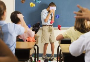 Class Booing Student During Presentation