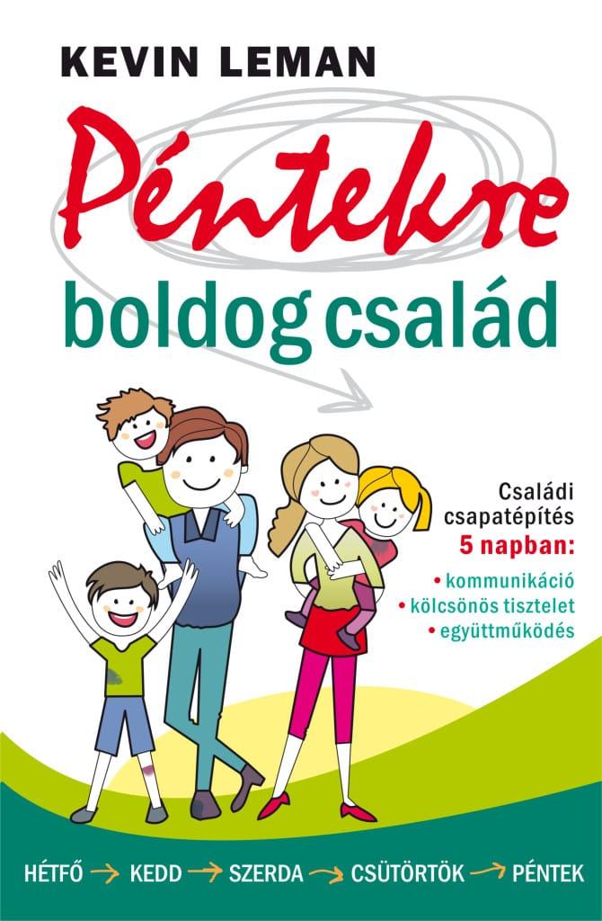 Leman Péntekre boldog család borító