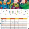 családi naptár2022